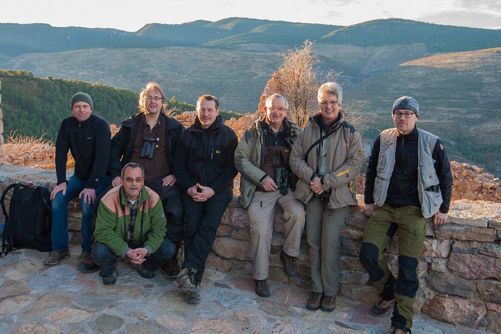 Groep met Yves Adams