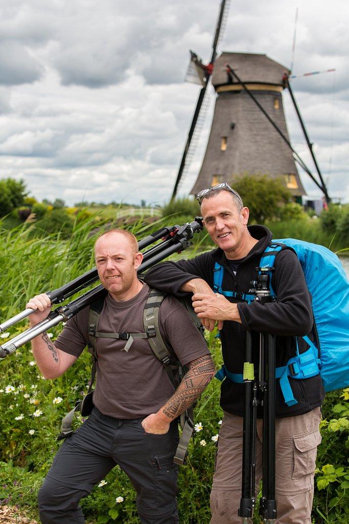 Steve De Waele en Guy Van Gilsen